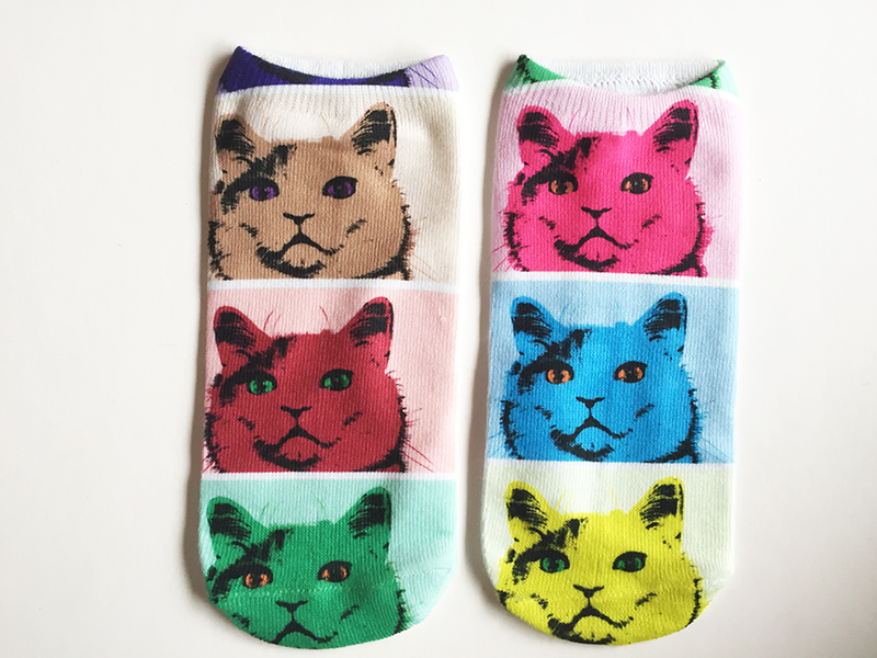 Calcetines Gato Warhol